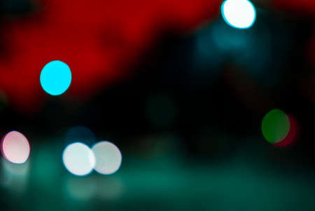 Abstract colored bokeh background, new year and celebration nights