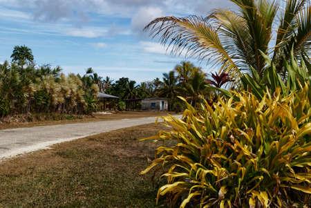 The circular road around Niue