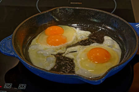 If superstitious a double yolked egg is meant to signify a pregnancy in the family
