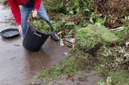 Green waste is dumped, it will be turned into compost