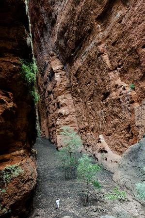 echidna: Echidna Chasm - Purnululu NP - Australia Stock Photo