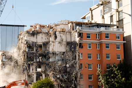 クライストチャーチの地震 2011 年 - ニュージーランド 写真素材 - 53921614