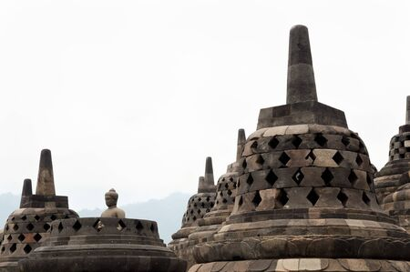 borobudur: Borobudur Temple - Jogjakarta - Indonesia Stock Photo
