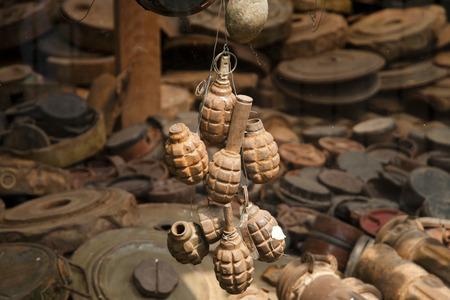 さびた手榴弾 - シェムリ アップ - カンボジア