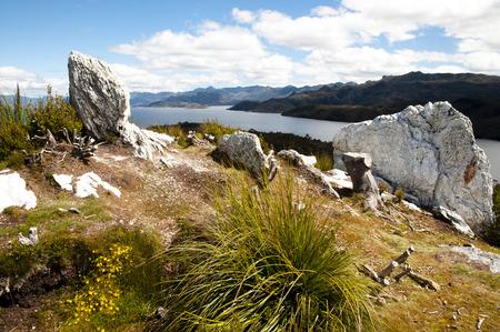 tasmania: Pedder Lake near Gordon Dam - Tasmania