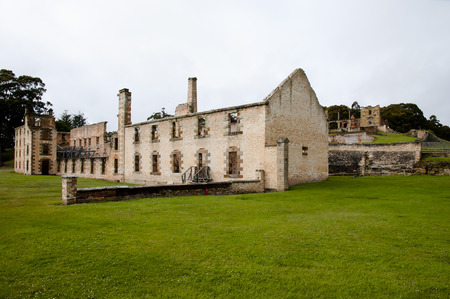 convict: Port Arthur Convict Site - Tasmania Stock Photo