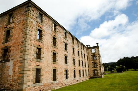 convict: Port Arthur Convict Site - Tasmania Stock Photo