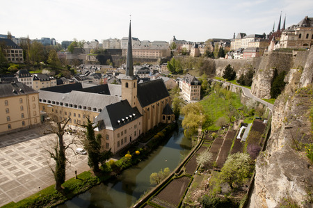 luxembourg: Luxembourg City Stock Photo