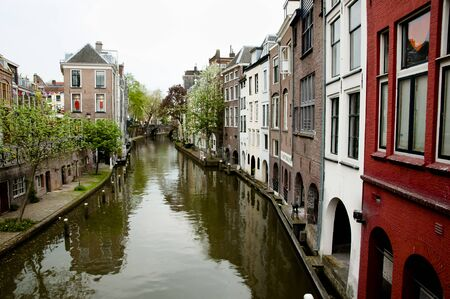 netherlands: Canal in Utrecht - Netherlands