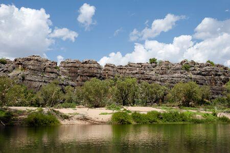 fitzroy: Geikie Gorge National Park - Kimberley - Australia