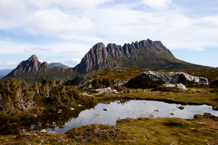 cradle: Cradle Mountain National Park - Tasmania - Australia