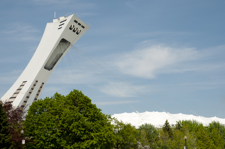olympic: Olympic Stadium - Montreal - Canada Editorial