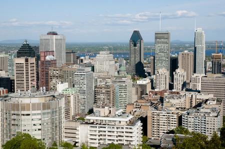 montreal city: Montreal City - Canada Stock Photo