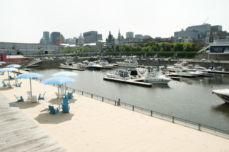 old port: Old Port - Montreal - Canada