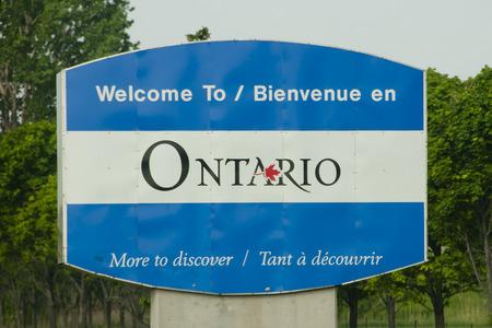 Ontario Province Sign - Canada