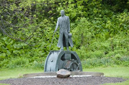 Tesla Monument - Niagara Falls - Canada