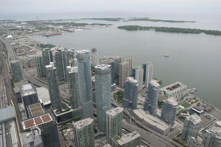 building cn tower: Toronto - Canada Stock Photo