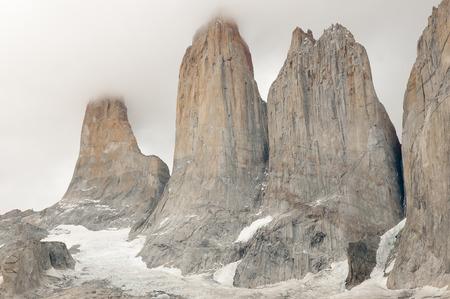 granite park: Granite Towers - Torres Del Paine National Park - Chile