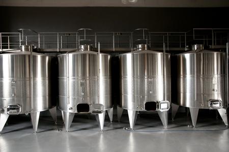 steel factory: Wine Tanks