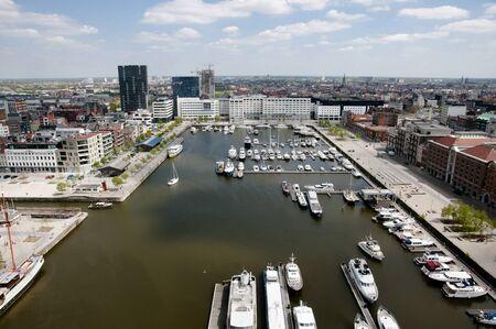 antwerp: Antwerp Harbor - Belgium