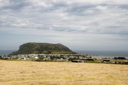 stanley: Stanley - Tasmania Stock Photo