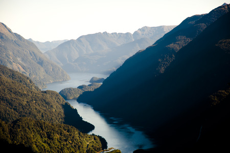 doubtful: Doubtful Sound - New Zealand Stock Photo