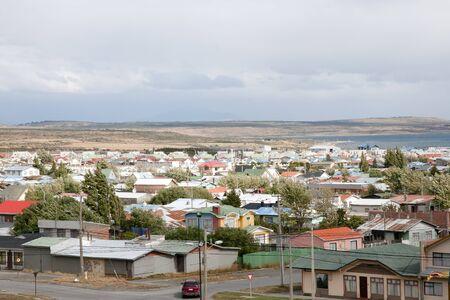 puerto natales: Puerto Natales - Chile Stock Photo