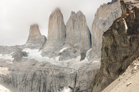 torres del paine: Granite Towers - Torres Del Paine National Park - Chile
