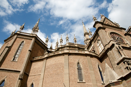 corazon: Sagrado Corazon Church - Cordoba - Argentina Stock Photo