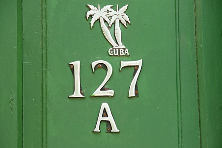 green door: 127A Green Door - Trinidad - Cuba