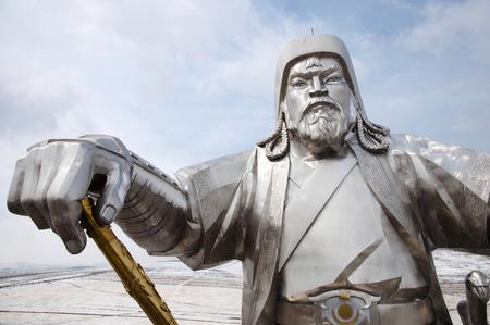 Genghis Khan - Mongolia Stok Fotoğraf