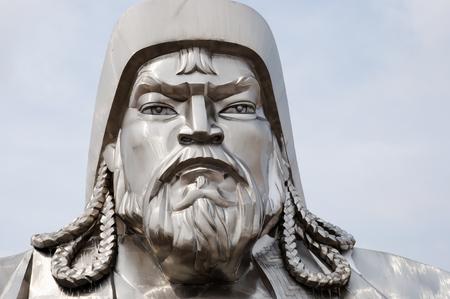 conqueror: Genghis Khan - Mongolia Stock Photo