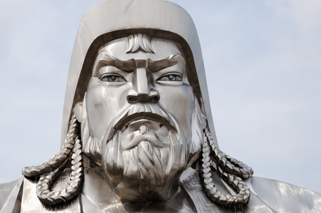 Genghis Khan - Mongolia Stock Photo
