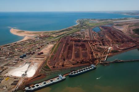 Port Hedland - Australia Reklamní fotografie