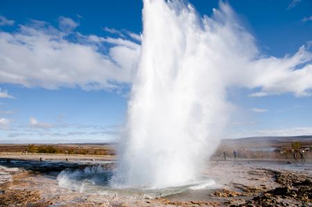 Geyser - Iceland Stock Photo