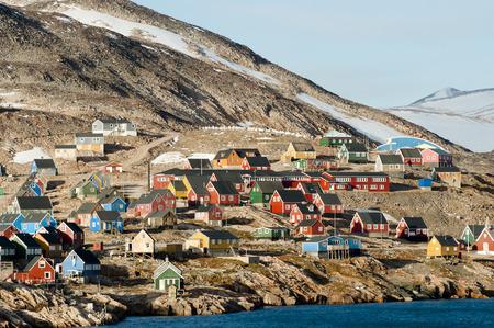 esquimales: Ittoqqortoormiit Pueblo - Groenlandia