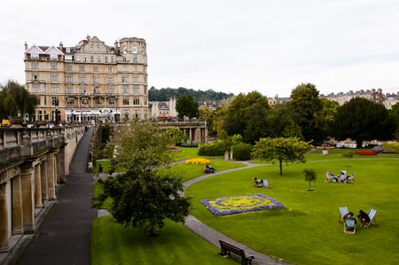 parade: Parade Gardens - Bath - England