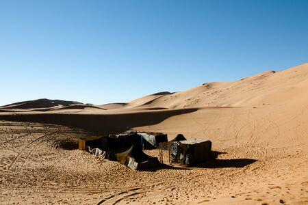 merzouga: Berber Tents in Merzouga Dunes - Morocco