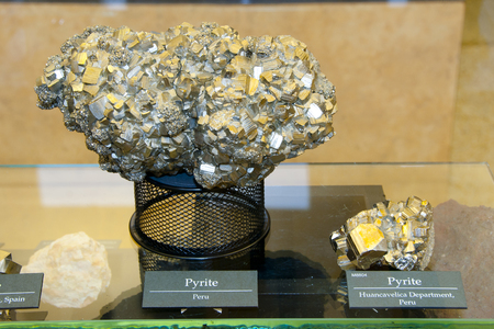 luster: Pyrite Mineral