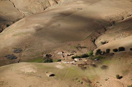 sedentary: Berber Houses - Atlas Mountains - Morocco