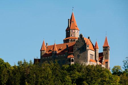 czech republic: Bouzov Castle - Czech Republic