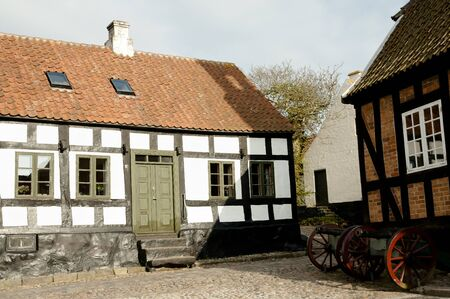 jutland: Ebeltoft - Denmark Stock Photo