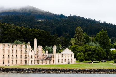 arthur: Port Arthur Convict Site - Tasmania Stock Photo