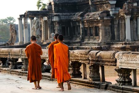 monks: Monks - Angkor Wat - Cambodia