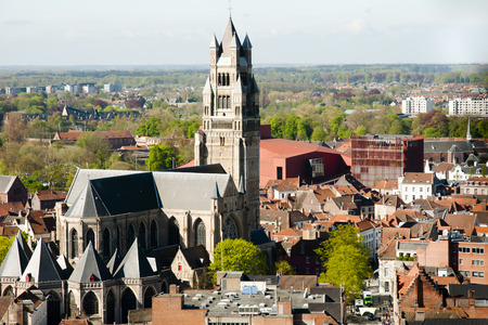 salvator: Saint Salvator Cathedral - Bruges - Belgium