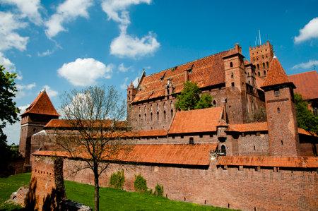 teutonic: Malbork Castle - Poland Editorial