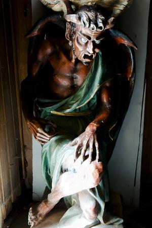 theories: Lucifer Statue