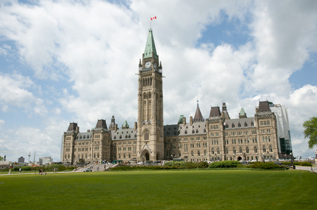 ottawa: The Parliament - Ottawa - Canada Stock Photo