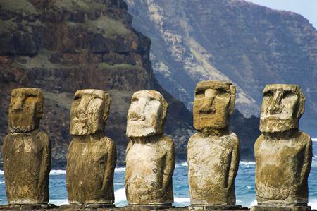 Tongariki Moais - Easter Island