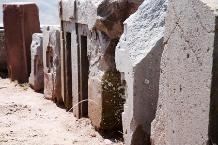 Puma Punku Stone Blocks - Bolivia